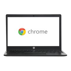 "HP Chromebook 11a-na0010nr 11.6"" Laptop Computer - Gray - (1F6F4UA#ABA)"