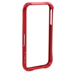 Бампер Deff Cleave Alluminum Red для iPhone 5/5s
