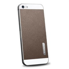 Защитная плёнка SGP (SGP09567) Skin Guard Leather Brown Set Package для iPhone 5/5s