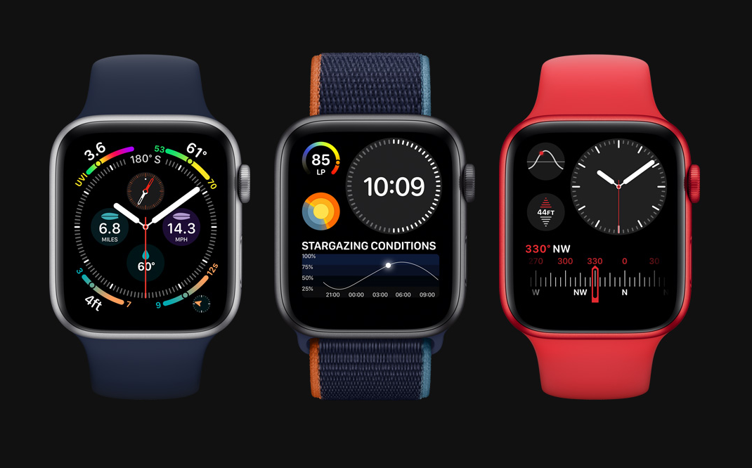 Apple watch series 6 view
