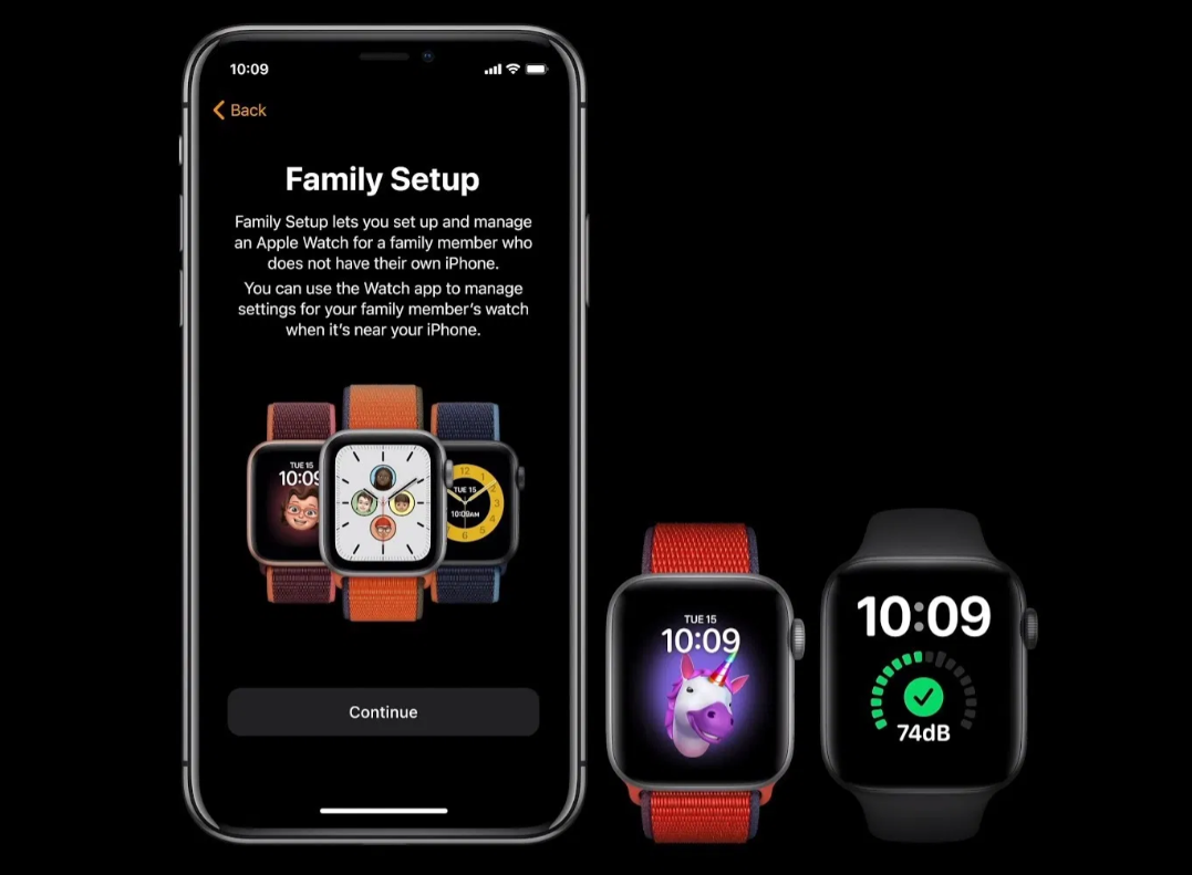 Apple watch 6 family sharing