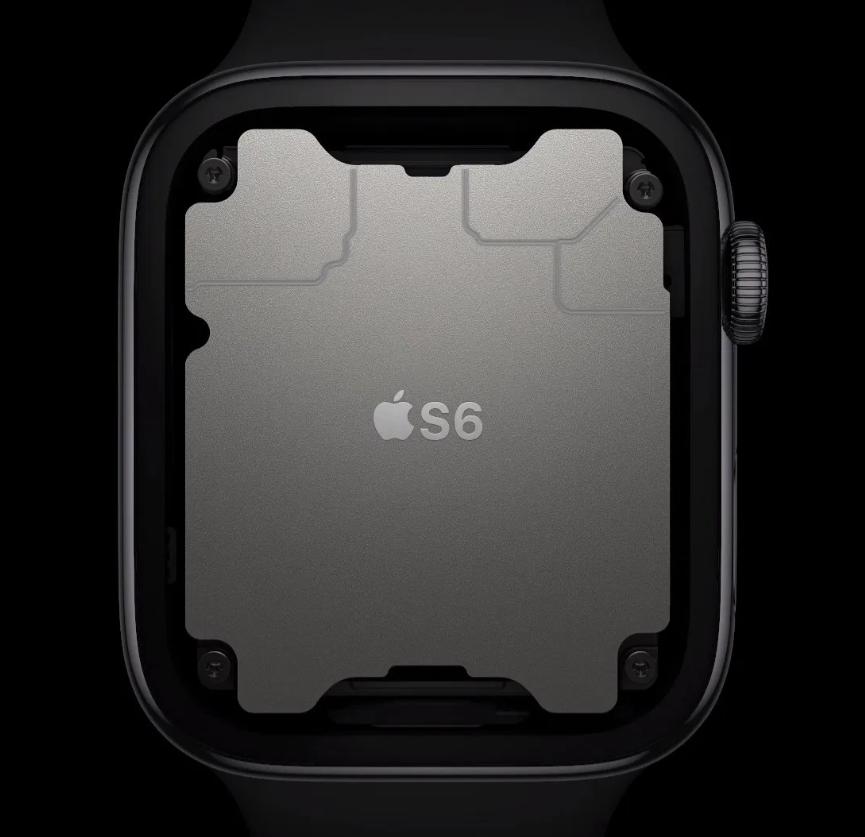 Apple watch series 6 inside