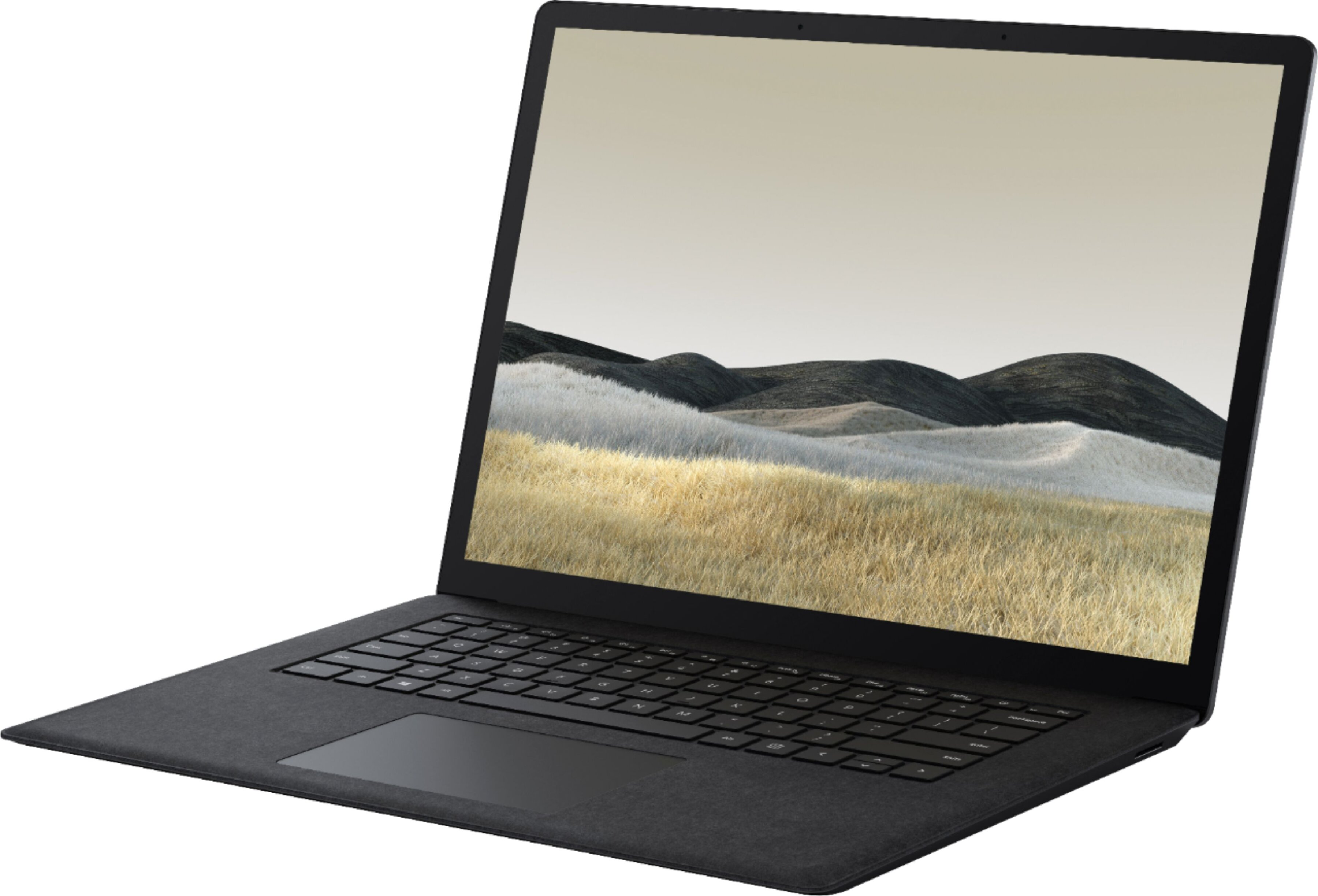 "Microsoft - Surface Laptop 3 - 15"" Touch Screen - AMD Ryzen™ 5 Surface Edition - 8GB Memory - 128GB SSD - Black Alcantara"