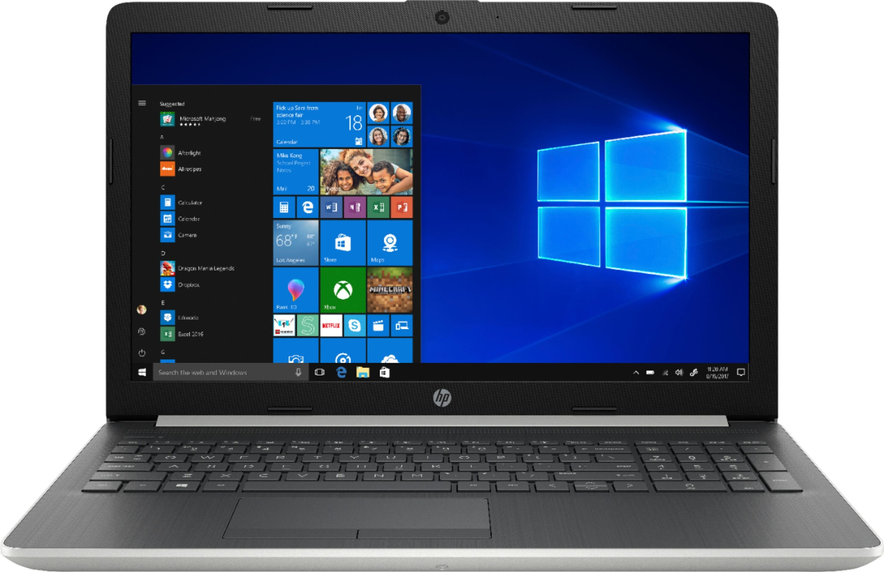 HP Laptop 15-da0041dx (1B9S2UA)