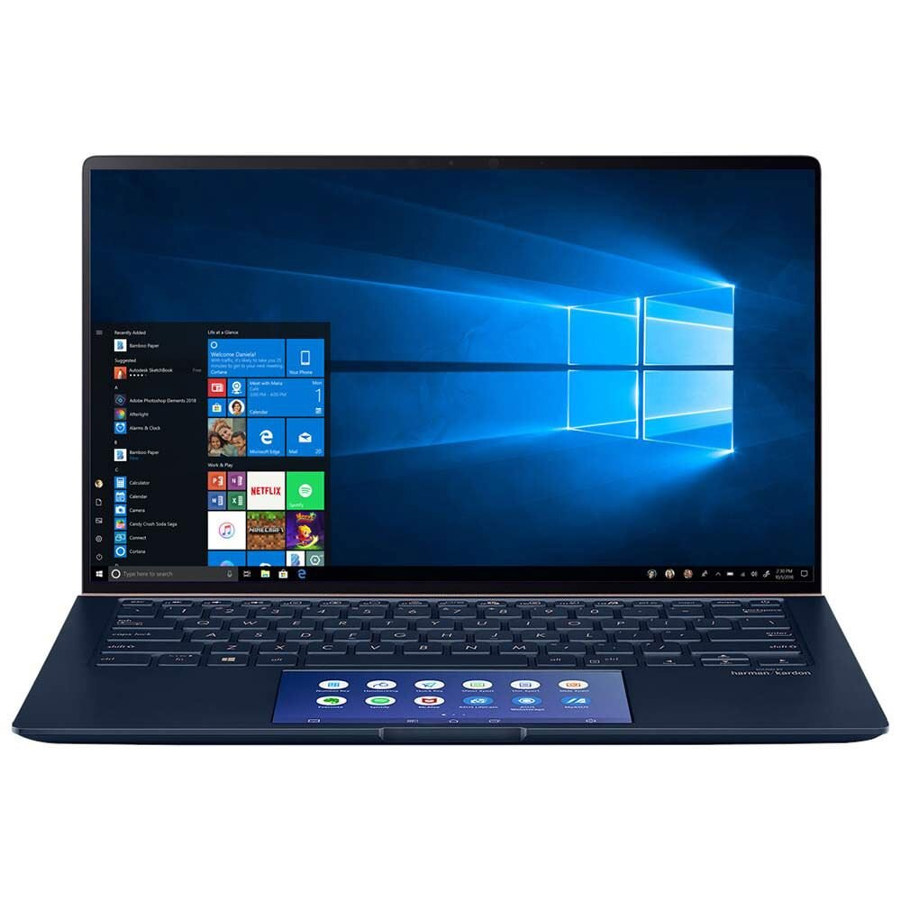 "ASUS ZenBook 14 UX434FLC-XH77 14"" Laptop Computer - Blue - (90NB0MP1-M04470)"
