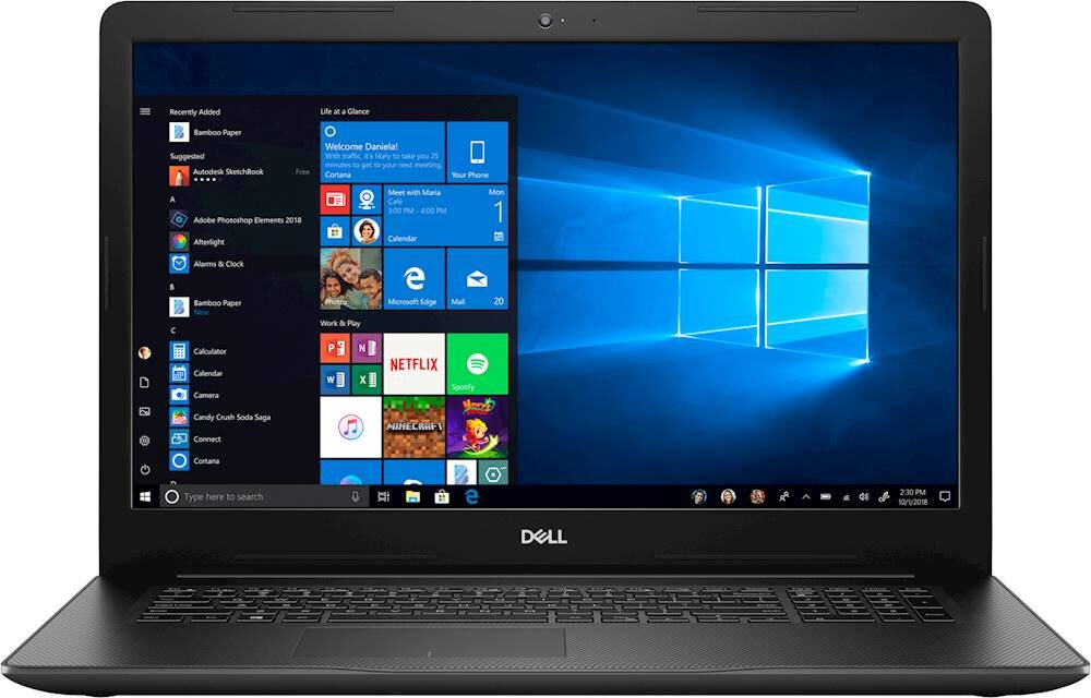 "Dell - Inspiron 17.3"" Laptop - Intel Core i5 - 8GB Memory - 1TB Hard Drive - Black"
